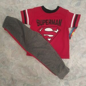 Other - NWT Kids unisex superman outfit